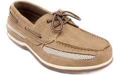 Picture of Men's BOATER Lace-Up Air Mesh 2-Eye Boat Shoe