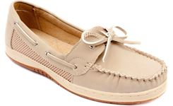 Picture of Women's TIDE Air Mesh Slip-On Boat Shoe Beige