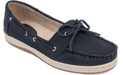 Picture of Women's TIDE Air Mesh Slip-On Boat Shoe Black