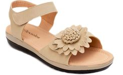 Picture of Women's BREEZE Adjustable Straps Slingback Sandal Beige