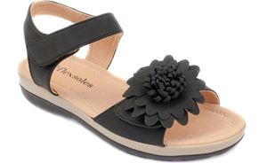 Picture of Women's BREEZE Adjustable Straps Slingback Sandal Black